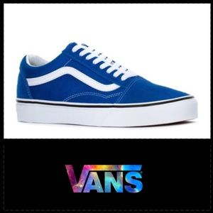VANS Old Skool men's skate shoes 'royal blue' (14)